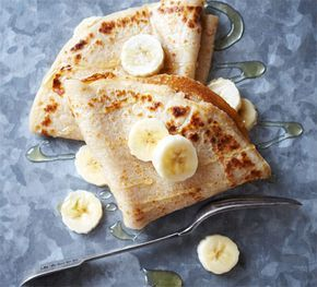 Gluten-free pancakes. Beat the bloat by using specialist flour in these light crepes and safely cater for those with a gluten intolerance.