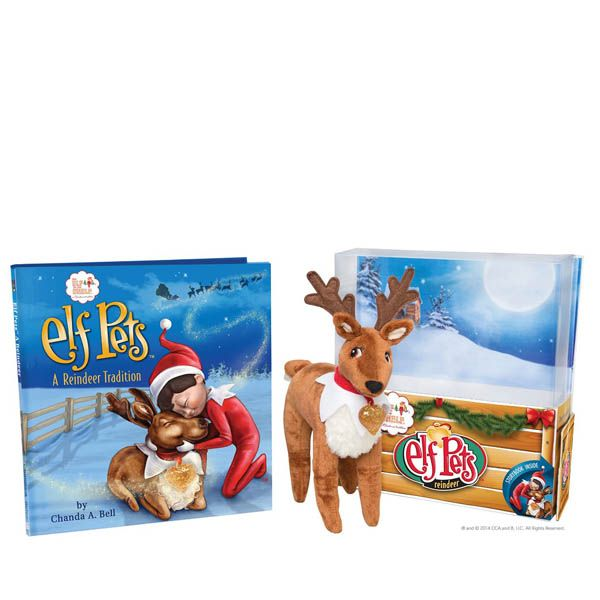 Elf on the Shelf Elf Pets: A Reindeer Tradition Book and Plush Set at The Paper Store