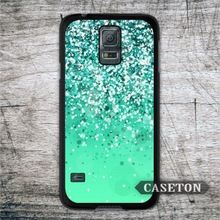 Mint Glitter Lovely Case For Samsung Galaxy S6 edge S5 S4 Active S3 mini Win Note 4 3 Core 2 Ace 4 3