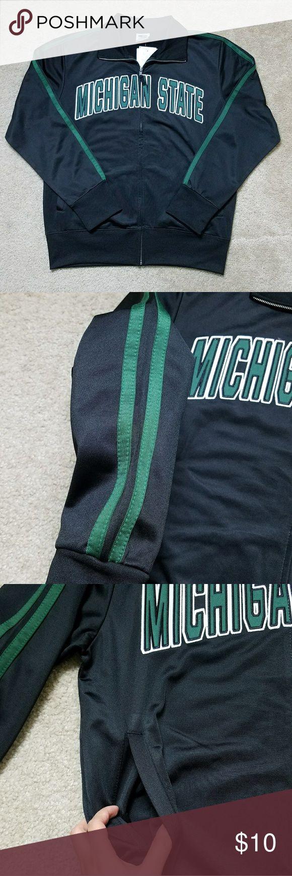 Stadium Athletics Michigan State Jacket NWT. Michigan State. Mens size medium. From a smoke and pet free home. Stadium Athletics Jackets & Coats