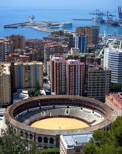 Málaga - Plaza de Toros La Malagueta.