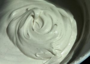 We love our whipped cream in coffee, on berries for dessert, really on any of our primal desserts. But it's nice to have an alternative to dairy and for our Paleo friends. Henry thought it w…