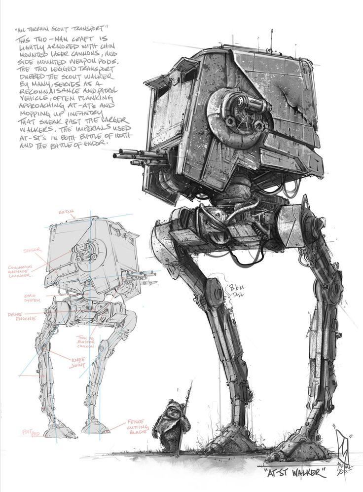 Star Wars Maschinen