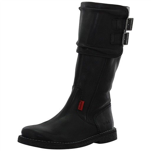 bottes loko cuir vettore femme kickers 444300 chaussures. Black Bedroom Furniture Sets. Home Design Ideas