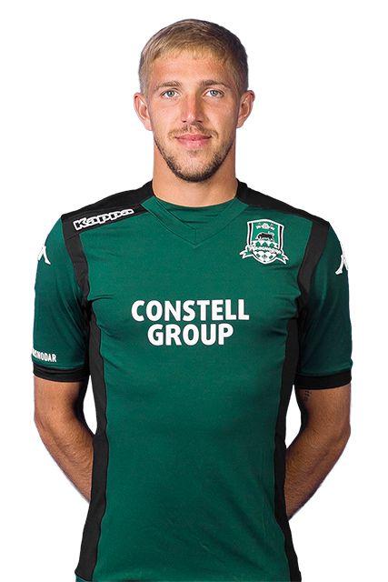 Юрий Газинский № 8  Position: midfielder Age: 25 years Birthday: 20.07.1989 Height: 184 cm Weight: 75 kg