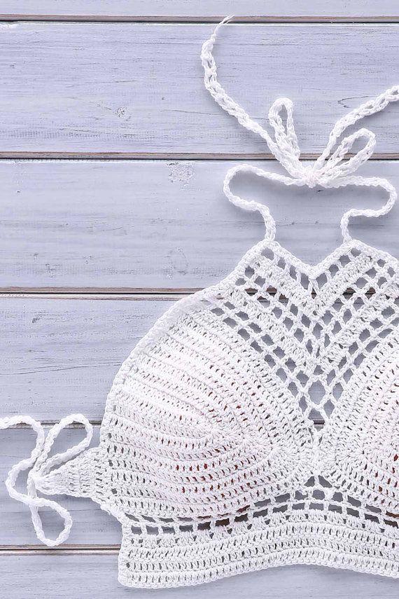 17 migliori idee su Costumi Da Bagno All'uncinetto su Pinterest  Bikini all'uncinetto, Costumi ...