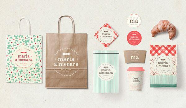 Maria Almenara #Bakery #branding