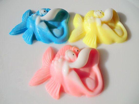 Soap  10 Fish Party Favor Soap  kids party favor by BubbleCitySoap, $12.00