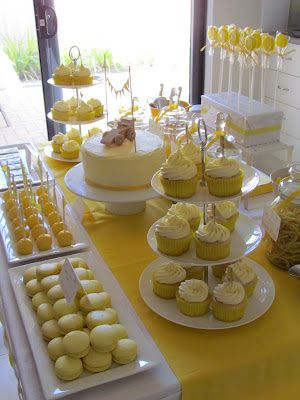 sunny yellow party