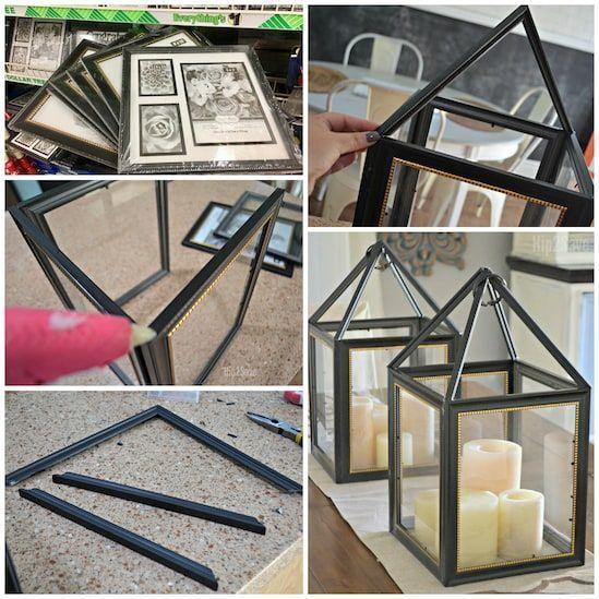 Haus dekoration ideen diy dollar baum bilderrahmen … # bilderrahmen #dekoration