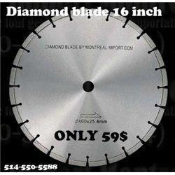 Diamond blade 16 inch