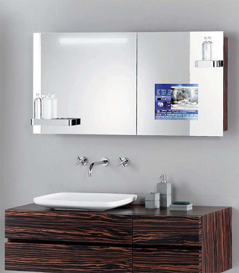 Bathroom Mirror With Tv best 25+ bathroom tvs ideas on pinterest | in shower tvs