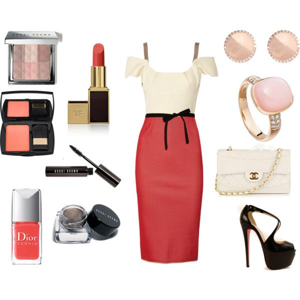 Blush and Coral, created by corallista on Polyvore