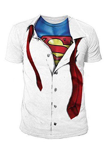 Clark Kent Superman Shirt ca €28 |Kostüm-Idee zu Karneval, Halloween & Fasching