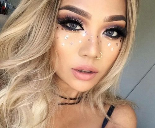 Best 25+ Festival makeup ideas on Pinterest : Coachella ...