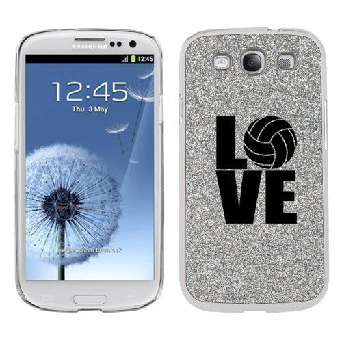 Silver Samsung Galaxy S3 SIII i9300 Glitter Bling Hard ...