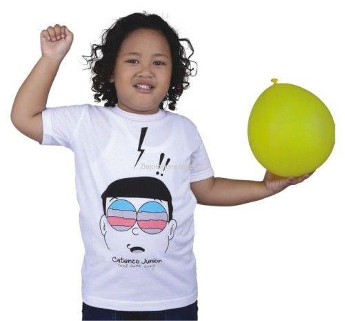 Kaos anak CTJ 17-233 cotton putih 2-8. Rp 114.250. #baju...