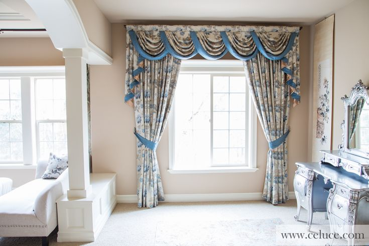 1000 images about window treatments swag valance for Celuce curtains