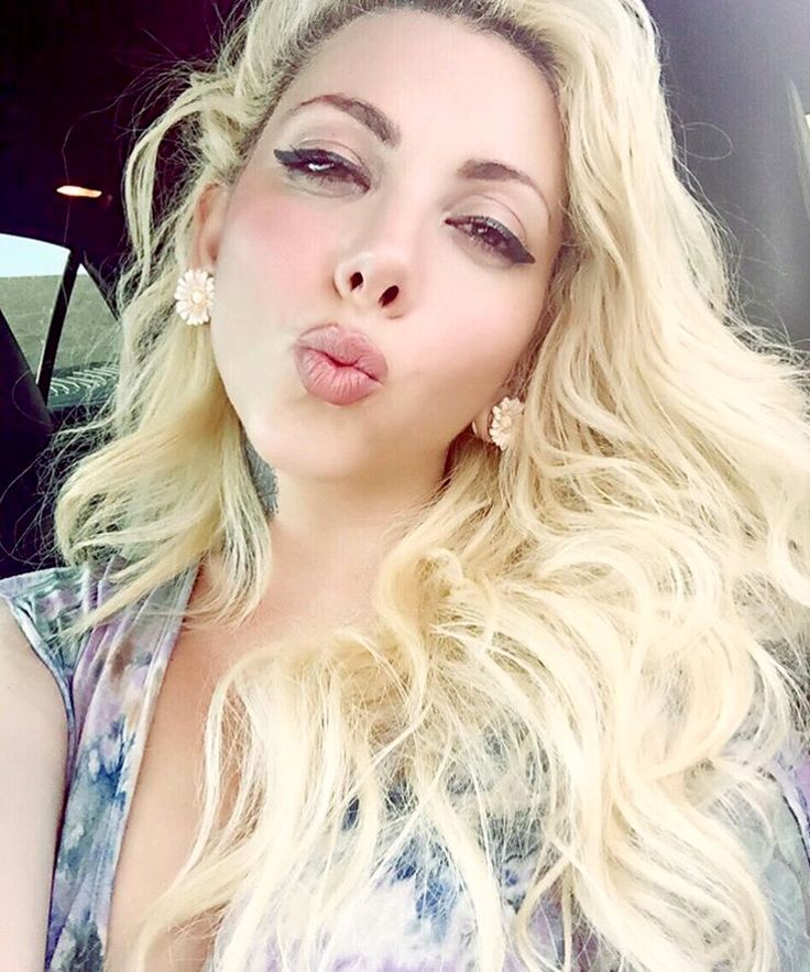 Blonde chick in sexy black lingerie mischa cross masturbates 4