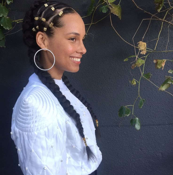 alicia keys hairstyle 2017 - photo #1