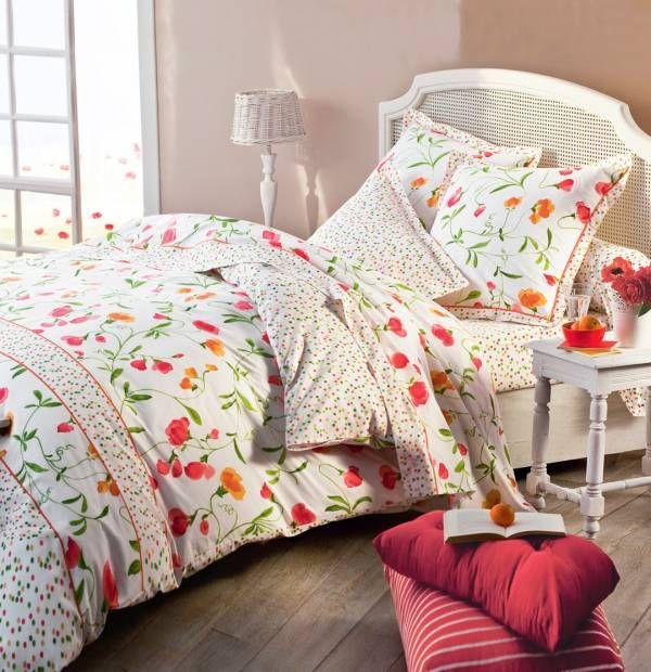 Essence et harmonie florale dans la chambre avec la collection Belle campagne. Exclusivité Françoise Saget. #harmonie #campagne #decochambre #francoisesaget