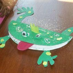 Frog Prince crafts
