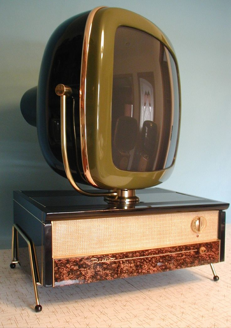 Predicta Televisions by Telstar are reproductions of the original 1958 Philco brand.