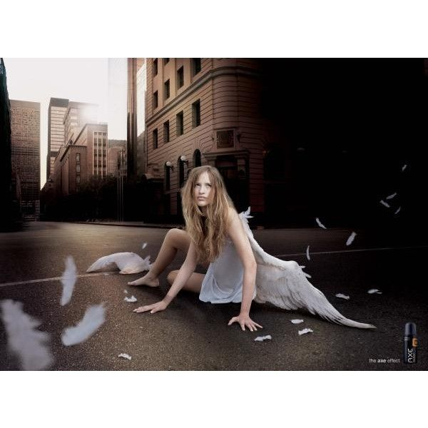 "Axe Excite Ad Campaign ""Fallen Angels"" Returns 