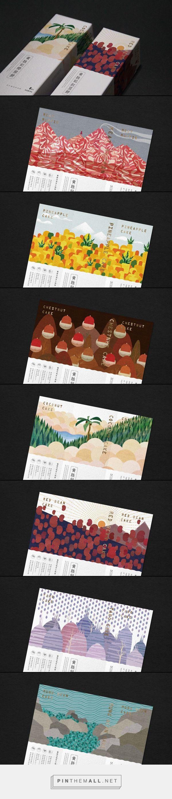 鼓浪嶼黃勝記伴手禮 酥饼系列 on Behance - created via https://pinthemall.net