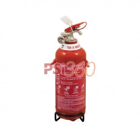 Stingatorul portabil presurizat permanent incarcat cu 1 kg de pulbere, este destinat stingerii inceputurilor de incendii.