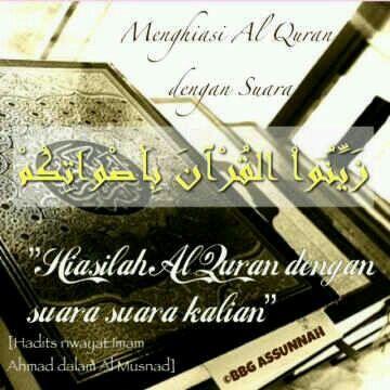 BBG As-Sunnah : Menghiasi Al-Qur'an