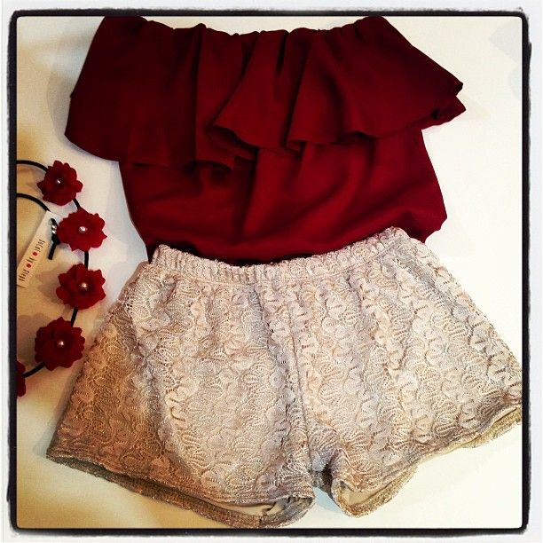 <3 --with black tights :) ...just lovely for Christmas season