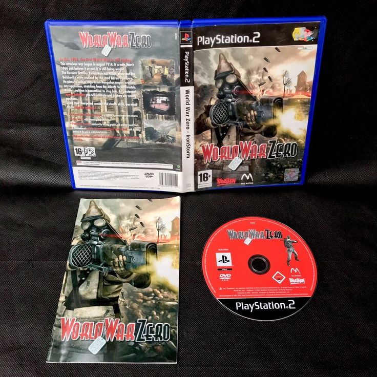 World War Zero WAS IronStorm Sony Playstation 2 PS2 16+ Action FPS Shooter Game