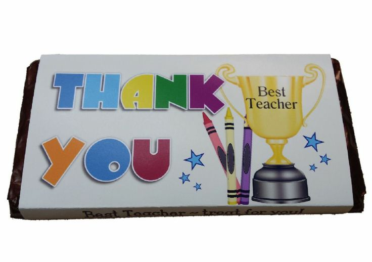 Personalised #TeacherThankYou Chocolate Gift Treat your Teacher with this yummy personalised Chocolate Bar A great Thank you present for your