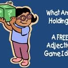 """This freebie includes directions on how to play an adjective game called, """"What Am I Holding?""""  It is very simple and doesn't cost anything!  All y..."""