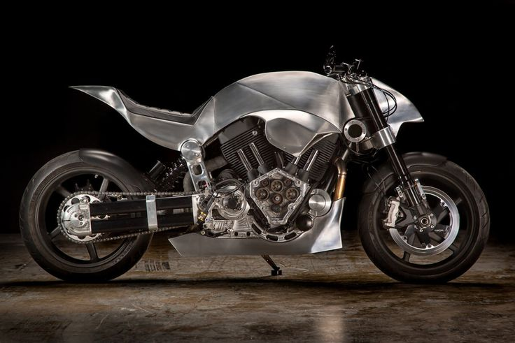This Customized Confederate Hellcat Is an Absolute Beast. Nice work form one of our favorite motorcycle shops.