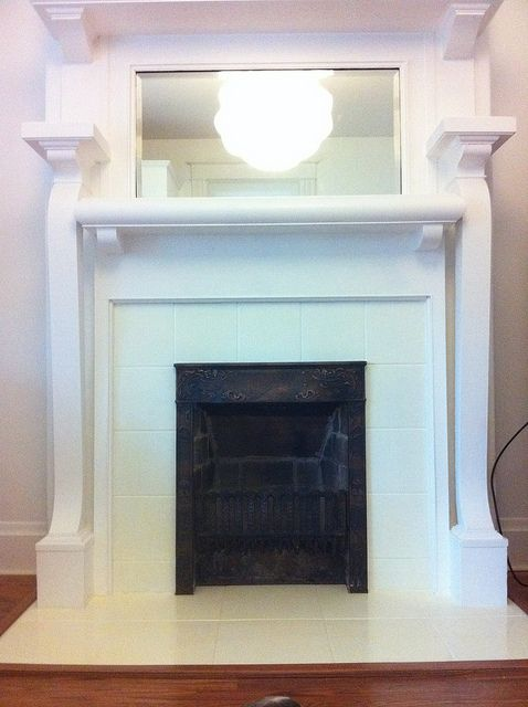 14 best fireplace images on pinterest fireplace ideas fireplace this is one of those projects that when youre done you smack yourself in the forehead and ask why didnt i do this sooner yes the fireplace tile is solutioingenieria Choice Image