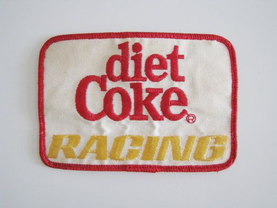 90s Diet Coke Racing Team Patch // V8 Supercar Team Patch