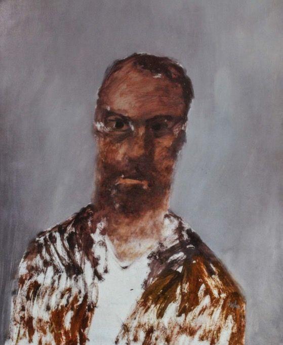 Head (Ned Kelly) Sidney Nolan 1962