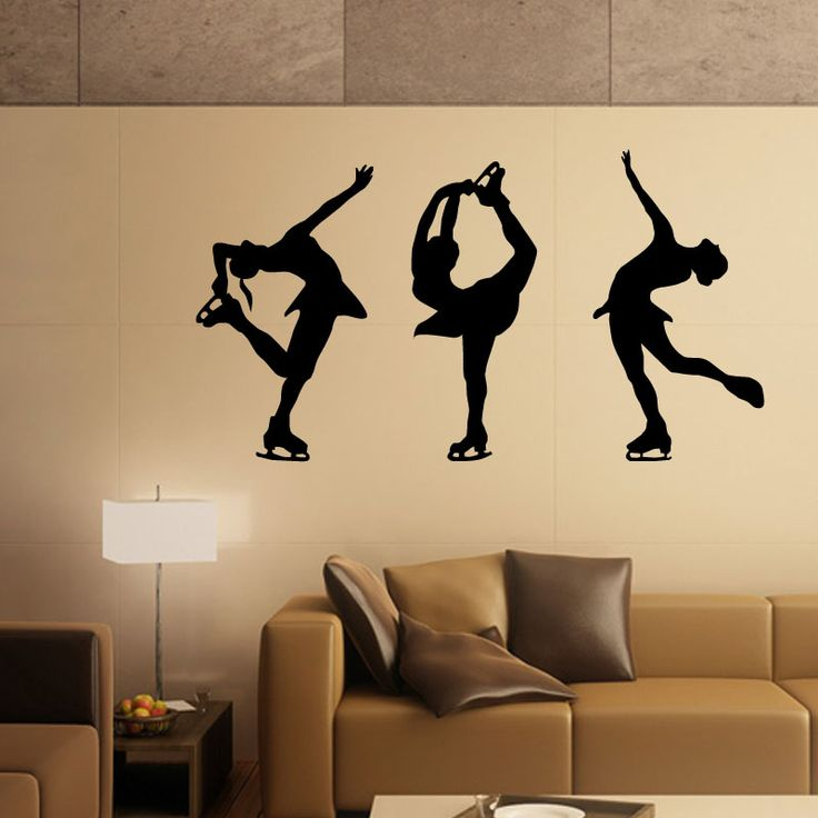 Artistic Dance Steps Wall Decal  Dance is the outcome of music. We love to dance and sing. This different poses of dance steps wall mural is the classic example of various dance steps. When it will be placed on the wall, it will depict your love for dance. This wall mural is available in different sizes and colors. When ordered it will be shipped at your doorstep in 2 business days.