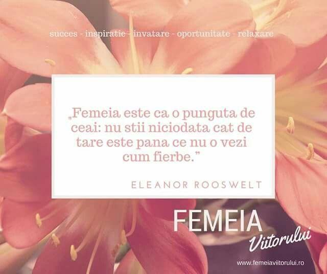 Inspiratia zilei de la www.femeiaviitorului.ro