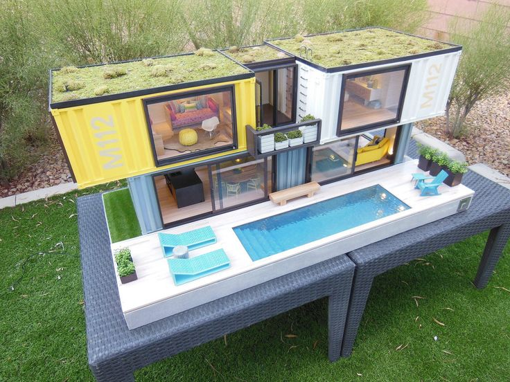 Containerhouses 444 best iso container houses & buildings images on pinterest