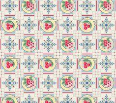 Cherries Vintage And Rugs On Pinterest