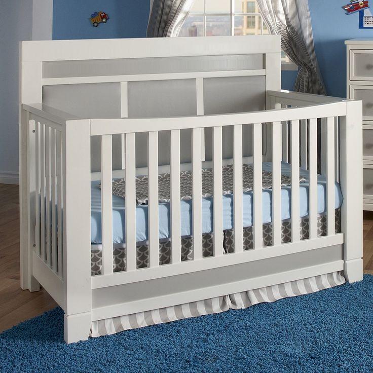 Pali Cortina Forever Crib In White/Grey. Baby CornerBaby ...