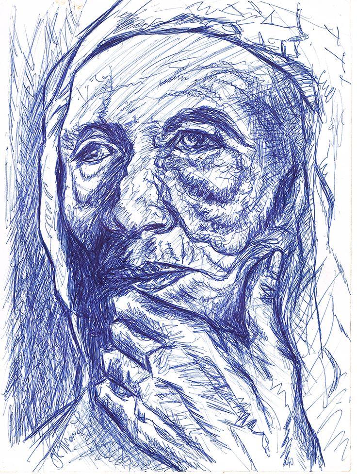 Biro drawing 1