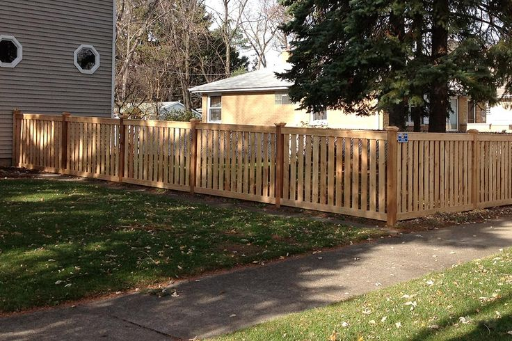 Best 25 Wood Fence Installation Ideas On Pinterest