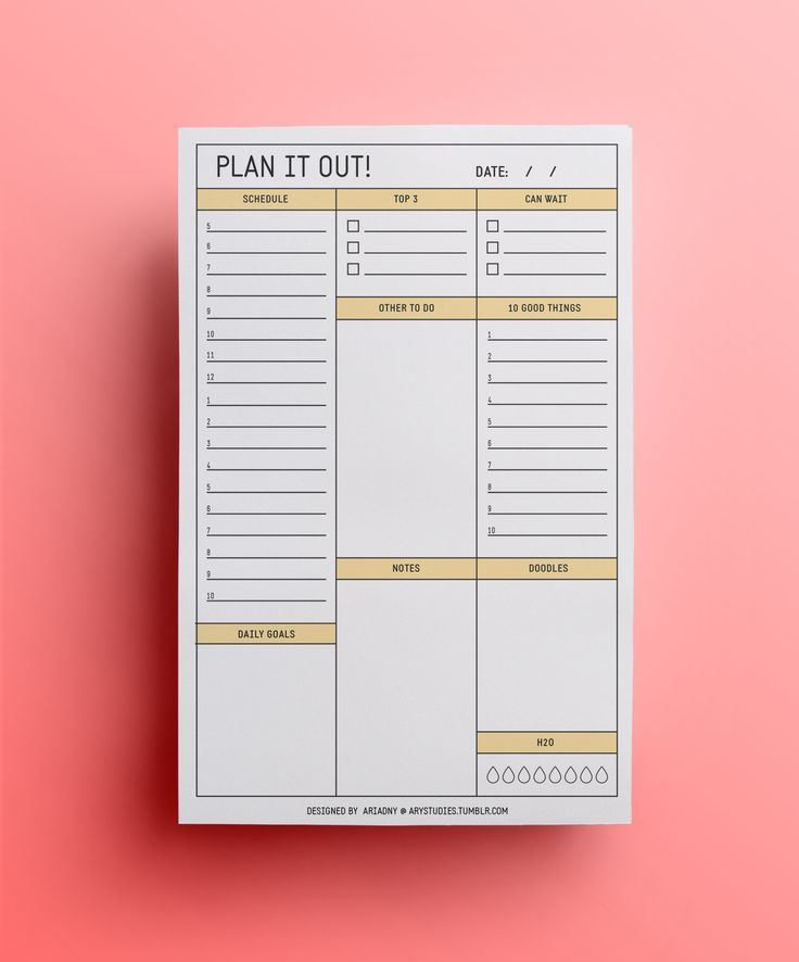 date planner
