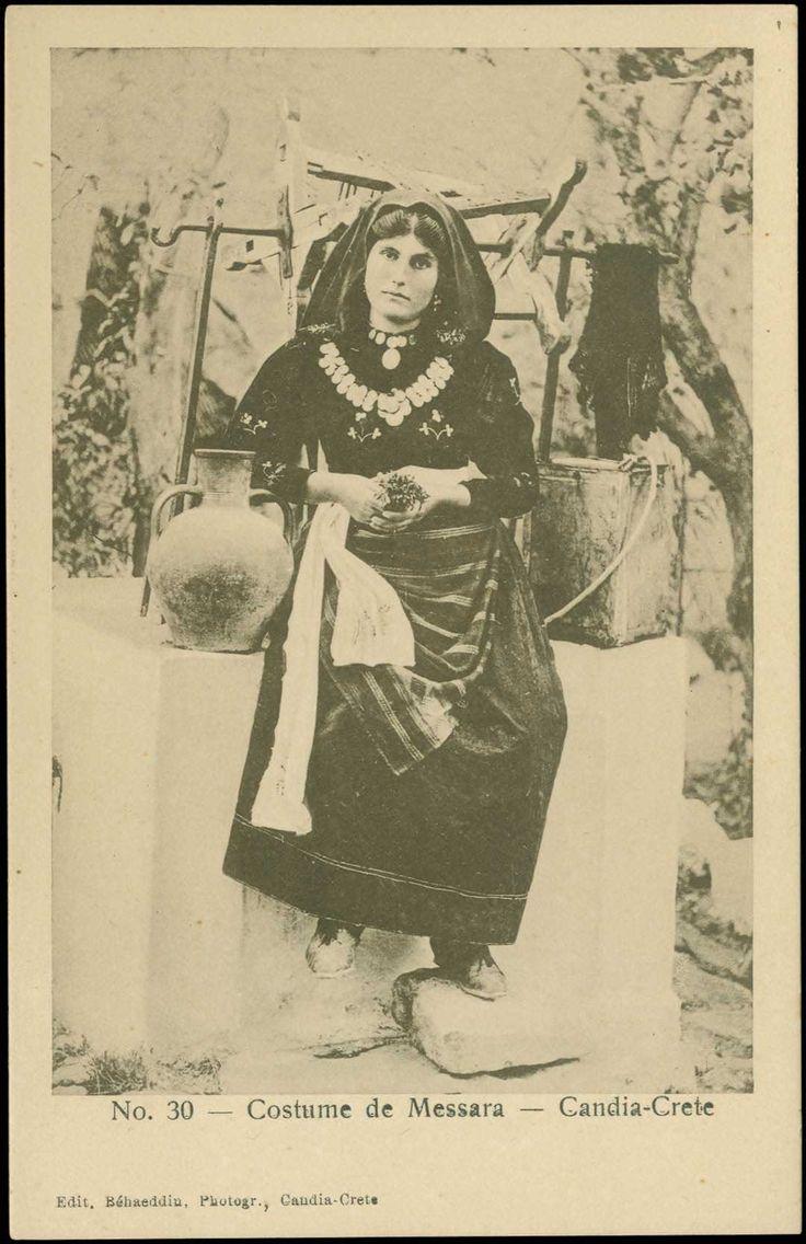 Costume de Messara -1906-1907, R.Behaeddin