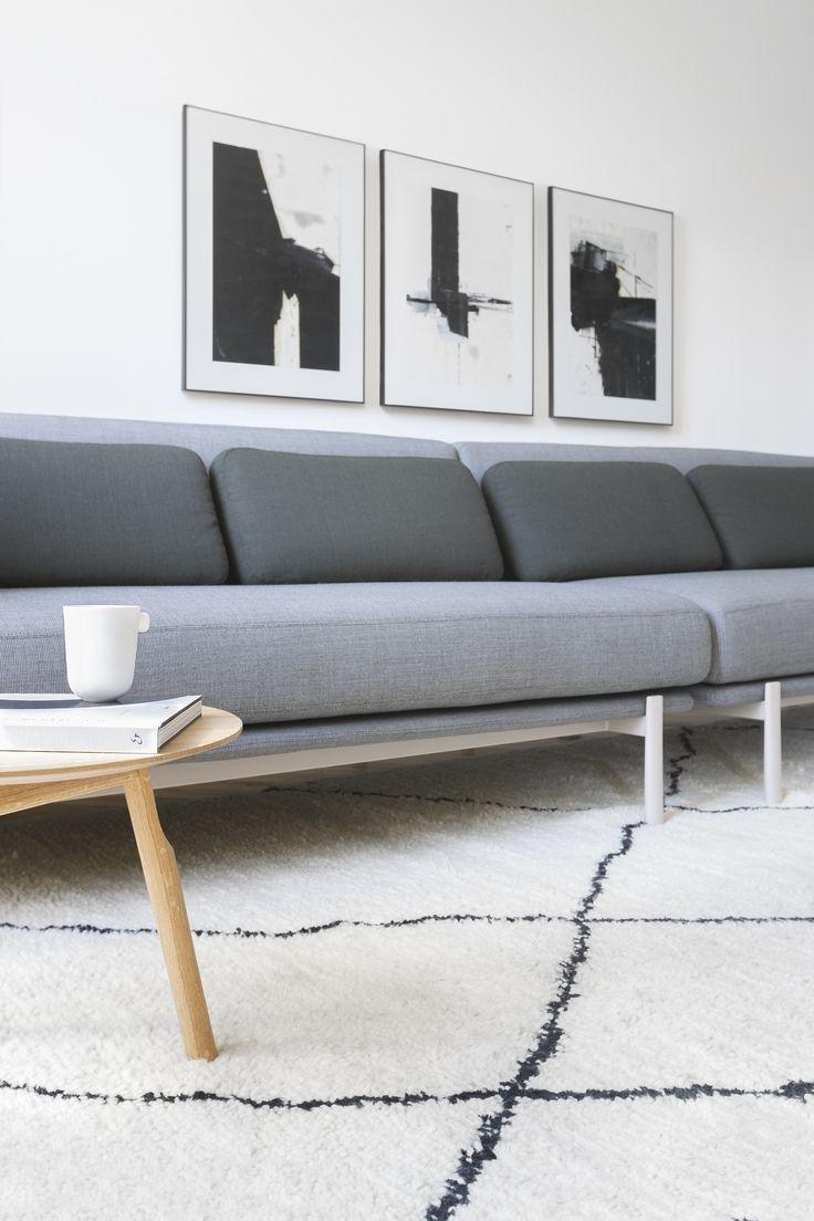 Details:  twelve sofa by PearsonLloyd with Kvadrat fabric kayak wooden small table by Patrick Norguet  #alias #aliasdesign #aliasathome #aliasatwork #aliasmood