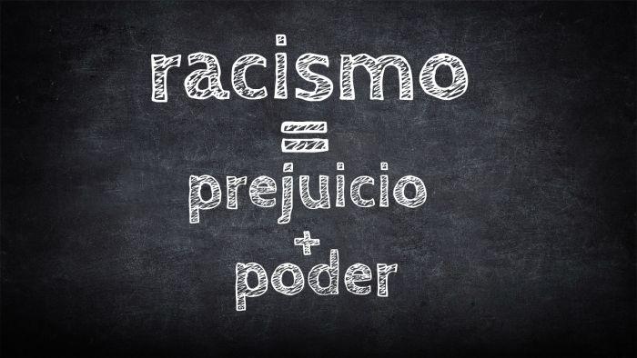 No existe el racismo inverso
